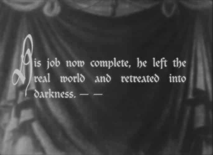 Silent Movie Titles Desimone Design