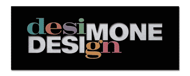 Desimone Design logo with effects